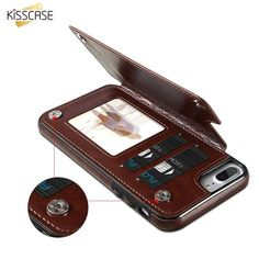 Retro PU Leather Flip Wallet Phone Cases for iPhones High quality leather flip wallet for iPhones Case Sizes For: iPhone 7 7 Plus, iPhone 6 iPhone 8 8 Plus, iPhone X 10 Material:High Quality… Iphone 6, Coque Iphone, Iphone Cases, Apple Iphone, Leather Card Wallet, Leather Case, Pu Leather, Vegan Leather, Pochette Portable