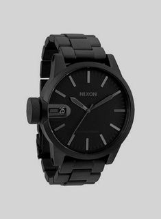 The Chronicle SS in All Matte Black Nixon watches G Shock, Cool Watches, Watches For Men, Nixon Watches, Black Watches, Casual Watches, Modern Watches, Stylish Watches, Fine Watches