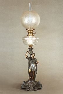 Antique Light Fixtures, Antique Oil Lamps, Antique Lighting, Vintage Lamps, Rain Lamp, Kitchen Canister Sets, Gas Lights, Kerosene Lamp, Crystal Glassware