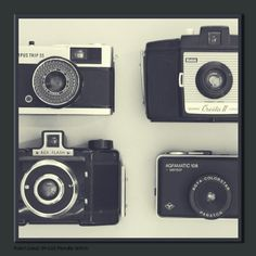 Retro Camera Magnetic Canvas - Retro Wall Art by Graham  Brown