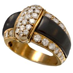 Shop diamond and sapphire more rings and other antique and vintage rings from the world's best jewelry dealers. Gold Diamond Rings, Diamond Jewelry, Gold Rings, Van Cleef And Arpels Jewelry, Expensive Rings, Family Jewels, Jewelery, Jewelry Box, Luxury Jewelry