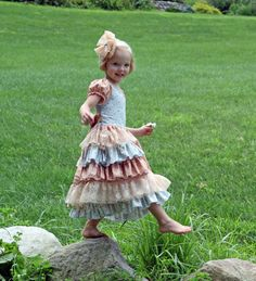 SALE..Buy 2 get 1 free..Instant Download PDF Sewing Pattern Tutorial Sugarplum Princess Girl's Dress, 6-12m to 10/12