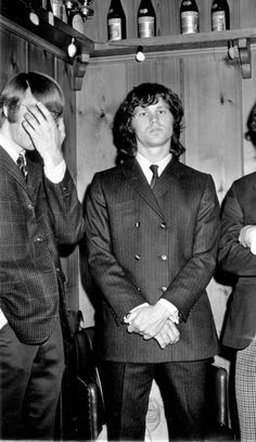 Ray Manzarek and Jim Morrison.