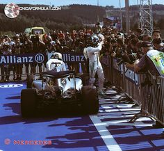 Nico Rosberg se lleva la victoria en Spa después de una carrera caótica. Hamilton 3º  #F1 #BelgianGP