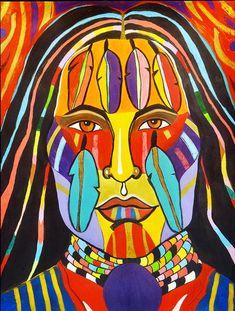 Rainbow-warrior_2-george-littlechild.jpg (530×700)