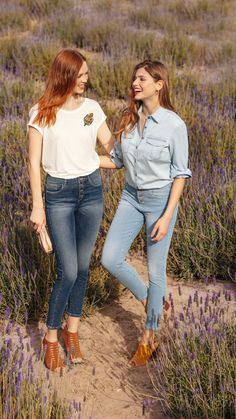 9d2c970c29 EMILE high-waist skinny jeans & ERNEST push-up casual trousers Find your  favourite