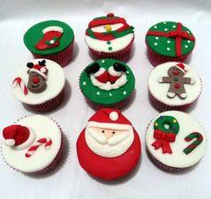 Cupcake de Natal                                                                                                                                                                                 Mais