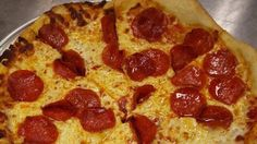 West Virginia: Pepperoni at Sirianni's Pizza Cafe in Davis --- A simple but satisfying cheese pizza strewn with discs of pepperoni.