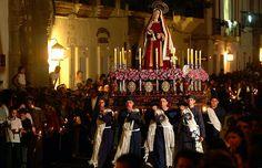 Paso de Semana Santa en Popayán