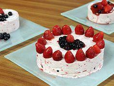 Torta helada de frambuesas - Sol Cortés