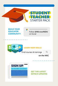 Student Teacher, Latest Updates, Professional Development, Microsoft, Connect, Community, Teaching, Tools, Education