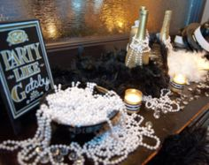 Having a Roaring Twenties themed or Great Gatsby wedding?! How about A Breakfast at Tiffanys themed event?! Want to add some glitz, glamour, and that chic extra touch to your evening party event?! Then you need to drape your guests in pearls!!! This Party Like Gatsby listing was designed with your occasion in mind. Spice up your wedding or party décor using these fun and luxurious pearl necklaces. They will add the perfect touch of elegance that will leave your guests talking! Upon checkout…