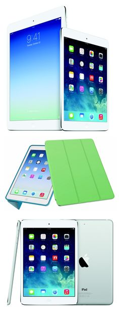 With the debut of the Apple iPad Air ($499-$929) and the iPad mini with Retina display ($399-$699), the 2013 holiday season tablet battle is fully underway. At one pound and 0.29 inches thick, the flagship iPad Air is smaller and thinner than previous iPads but has a much sharper 9.7-inch, 2048-by-1536-pixel Retina display and the much more powerful 64-bit A7 processor. The iPad mini with Retina display has a 5.3-inch screen with the same resolution and uses the same A7 chip as the iPad Air.