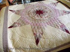 Borderline Quilter: Not so lonely Lone Star Quilt