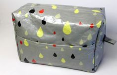 Tutorial: Sewing Up A Summer Waterproof Washbag , also how to create laminated fabric hack