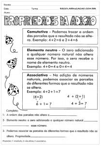 Atividades De Matematica Para Imprimir Com Imagens