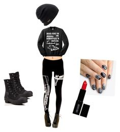 Supernatural dean by batgirlsupergirl on Polyvore featuring polyvore, fashion, style, Hunter, Coal, Lord & Berry and alfa.K