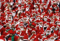 25 #carreras alrededor del mundo que querrás hacer antes de morir  #sport #world #marathon #running  Great Santa Dash