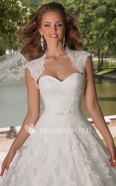 Queen Anne Sweetheart Criss cross Ball Gown Dress With Appliques And Corset  Back 79f3b2a33058
