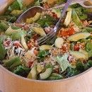 Avocado Pine Nut Salad Recipe - made for the neighborhood BBQ and was a hit