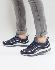 Get this Nike's sneakers now! Click for more details. Worldwide shipping. Nike Air Max 97 Ultra '17 Trainers In Blue 918356-400 - Blue: Air Max 97 trainers by Nike, Supplier code: 918356-400, Textile upper, Lace-up fastening, Padded tongue and cuff, Nike Swoosh and Air Max branding, Chunky rubber outsole for durability, Full-length Air Max unit for extra cushioning, Lightweight waffle tread for greater traction, Wipe with a damp sponge. Back in 1971 Blue Ribbons Sports introduced the concept…