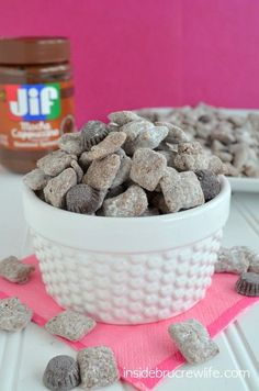 This fun puppy chow/muddy buddies has a fun mocha twist to it. Be careful or you will eat the entire batch! #cappuccino