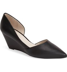 Main Image - Kenneth Cole New York 'Ellis' Half d'Orsay Wedge Pump (Women)