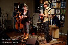 Photos – Shiny and The Spoon, 11/23/14, Leo's Coffeehouse, Cincinnati, OH