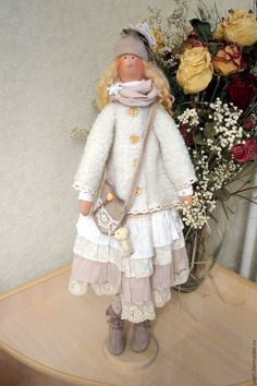 Купить Кукла тильда Дашенька - кукла ручной работы, кукла Тильда, куклы и игрушки ♡