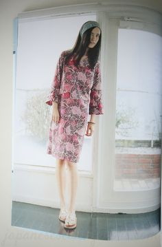 I love this dress. I'm quite picky when it comes to patterns, but this flower fabric is pretty and feminine without being too flashy. Book Review – Casual Sweet Clothes www.japanesesewingbooks.com