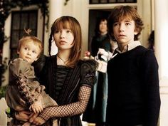 Sunny, Violet, and Klaus Baudelaire  from A Series of Unfortunate Events