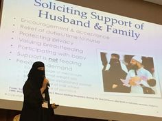 I had the pleasure of meeting Aisha Al-Hajjad at a conference in Sharjah, United Arab Emirates in November 2016. She's doing wonderful work helping breastfeeding mothers in the Middle East.