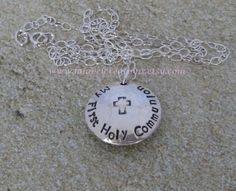 First Holy Communion Gift   Personalized by LalabelCreations