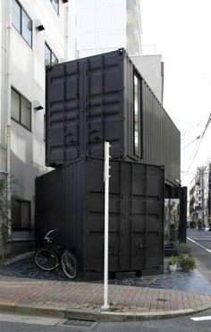 Gallery of / Tomokazu Hayakawa Architects - 10 - Modern Architecture Design Let me be YOUR Realtor! For more Home Decorating Designing Ideas or an - Tokyo Architecture, Architecture Durable, Architecture Design, Container Architecture, Container Buildings, Amazing Architecture, Installation Architecture, Creative Architecture, Industrial Architecture