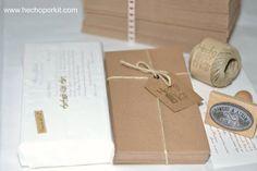 Un Kit DIY de invitaciones de boda !!! @hechoporkit #bodas #DIY