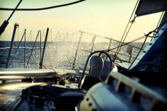 Spray over the bow of American Promise Marine Debris, Sailing Yachts, Naval Academy, Sail Away, Hunting, Bow, American, Arch, Longbow