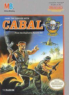 NES Games - Cabal