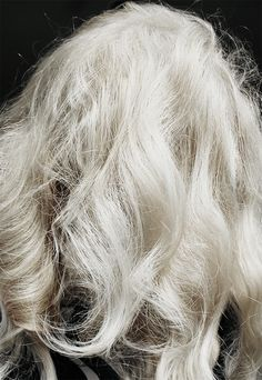 Silver hair/grey hair (See more on the beauty blog!)