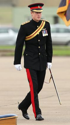 Prince Harry Presents No 26 Squadron RAF Regiment with new standard, 11/13/2014