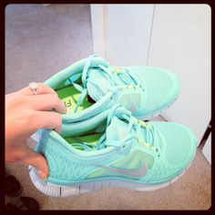my awesome new aqua running shoes :) what great motivation to get in shape for my wedding!