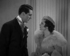 Cary Grant Kiss and Makeup, 1934