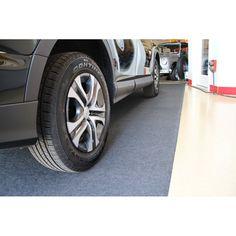 Armor All Garage Flooring Roll in Charcoal & Reviews | Wayfair Garage Floor Mats, Garage Floor Paint, Home Depot, Garage Flooring Options, The Family Handyman, Garage Floor Coatings, Concrete Garages, Filigranes Design