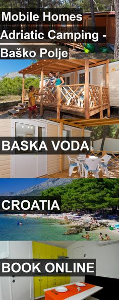 Hotel Mobile Homes Adriatic Camping - Baško Polje in Baska Voda, Croatia. For more information, photos, reviews and best prices please follow the link. #Croatia #BaskaVoda #MobileHomesAdriaticCamping-BaškoPolje #hotel #travel #vacation