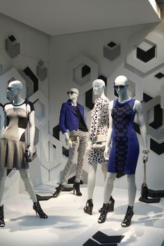 WindowsWear | DVF, New York, June 2013