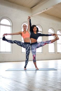 A Standing Leg Extension for two? Hell yeah. Call on your squad to go harder. Use them to motivate you and push yourself. Together, you got this. More style inspiration after the click.
