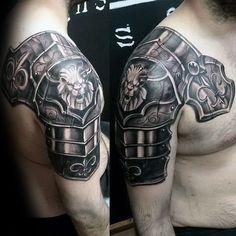 6d1350c02 Medieval Armor Tattoos | Medieval Armor Tattoos Winning design for ...