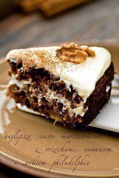NAJLEPSZE CIASTA DIETETYCZNE   Ciasto marchewkowe, najlepsze