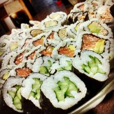 #Sushi #Rolls #NewYork #Philadelphia #AtunCocido #California#Makis #Kappa #Sakeniira #Namasake #Kyodo #Japanese #Food #Delicious #Dinner