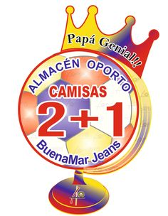 Lo mejor para Papá, camisas #BuenaMar #Cartago #Pereira #PapáGenialOporto