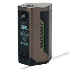 Wismec Reuleaux RX GEN3 300W TC VW Variable Wattage Box Mod - Temperature control vape mod. E-Cig, Electronic Cigarette. triple 18650 battery